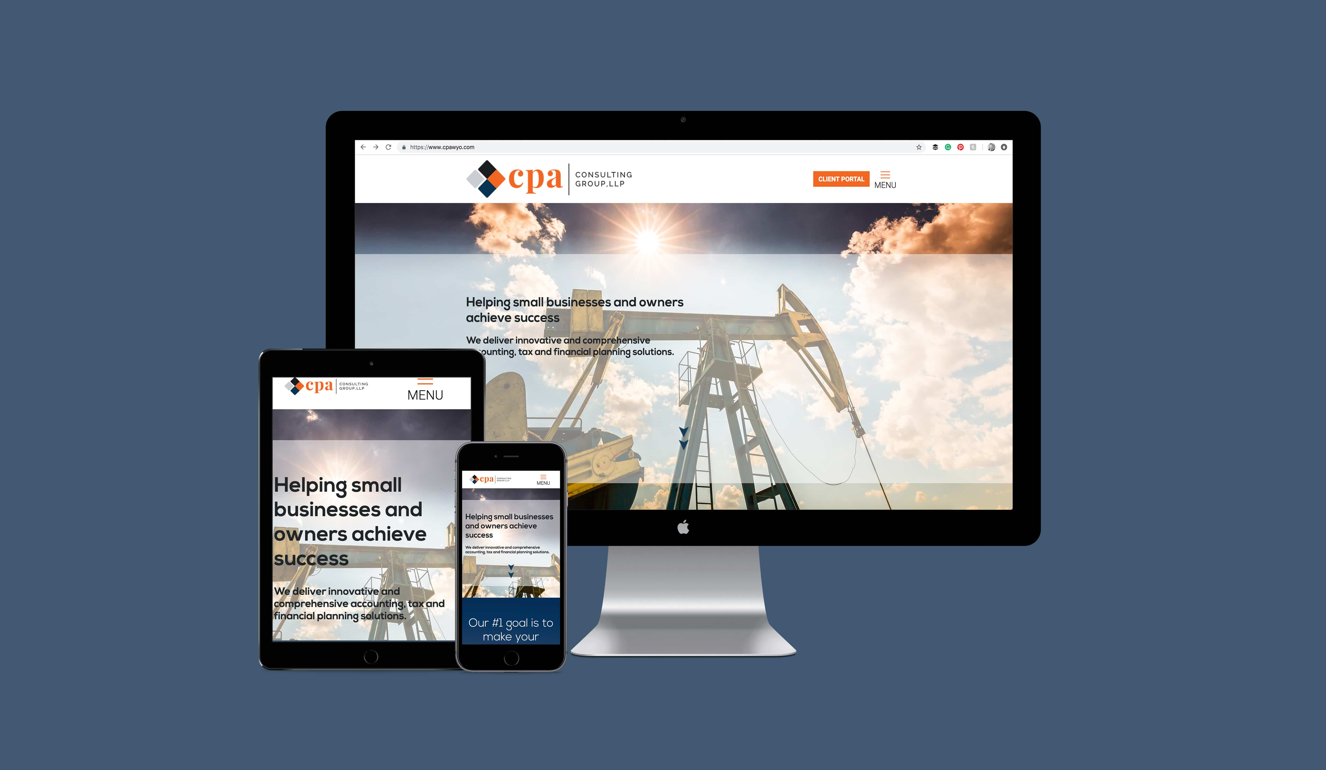 CPA Consulting Group Website