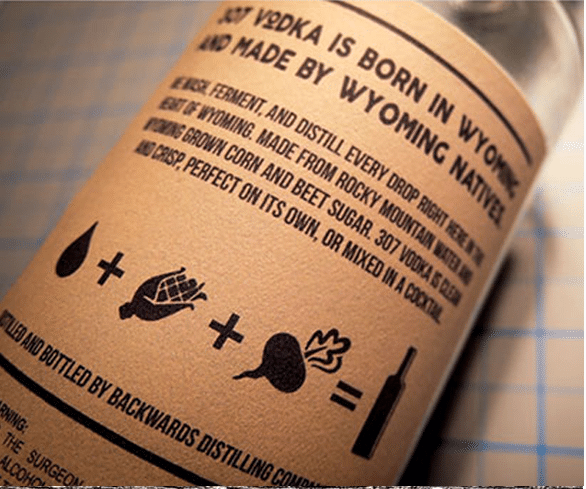 PICTURE OF THE BACK LABEL