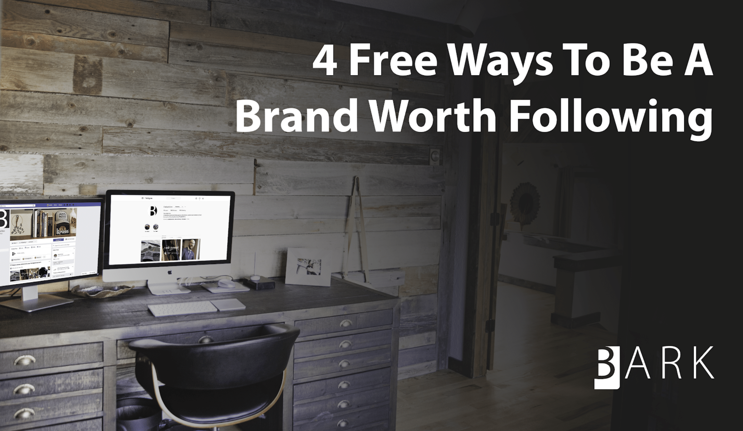 Real Advice On Social Media Strategy From The BARK Firm (And It's Free)