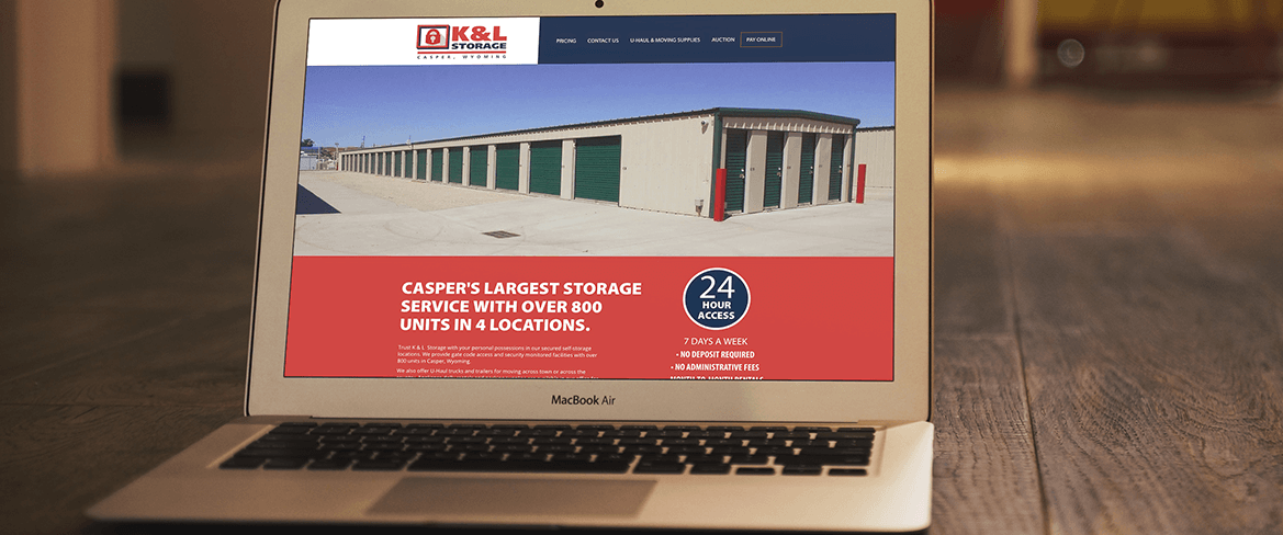 K&L Storage Website