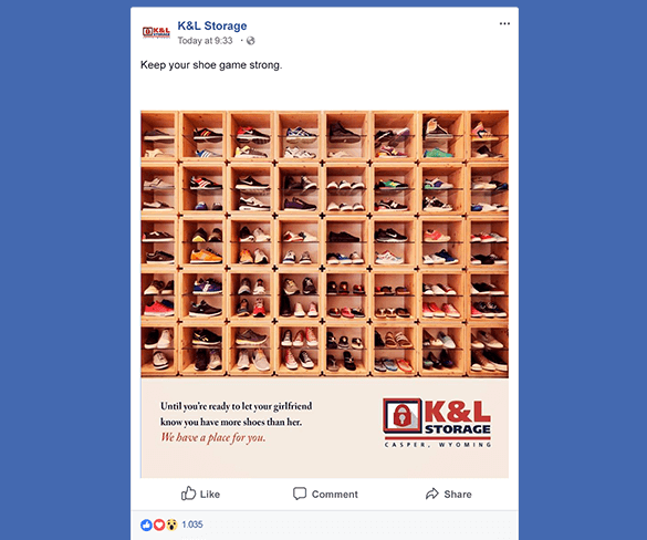 K&L Storage Social