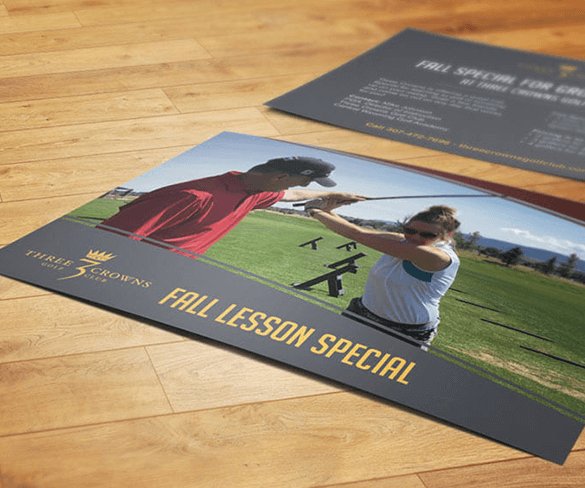 Three Crowns Golf Club Brochure