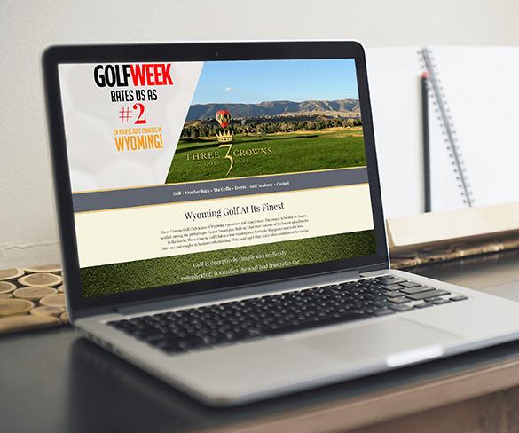 Three Crowns Golf Club Website