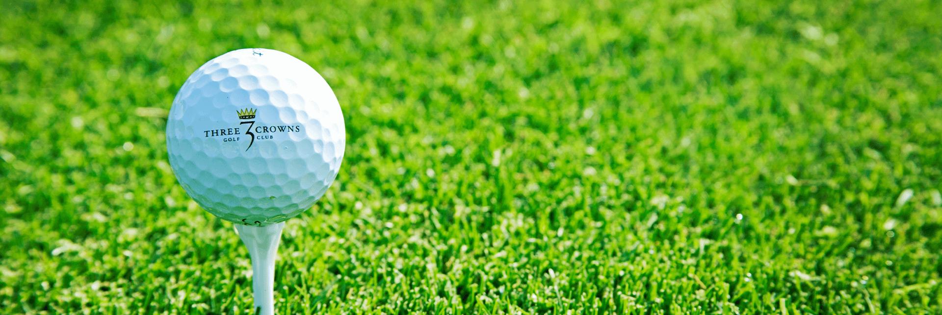 Three Crowns Golf Club Hero