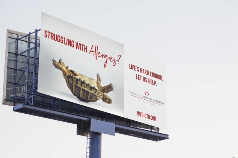 Wyoming Otolaryngology Billboard