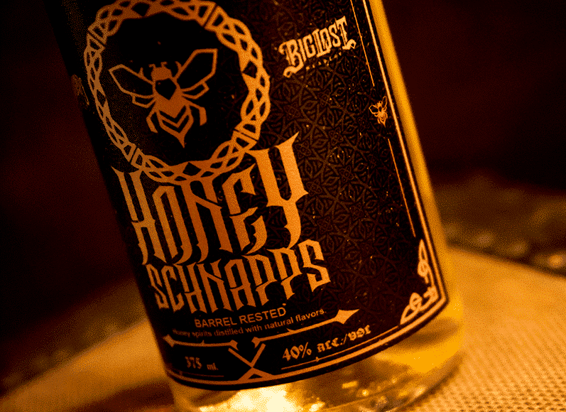 Honey Schnapps Label