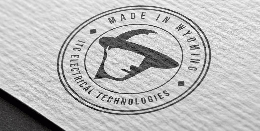 itc logo mockup