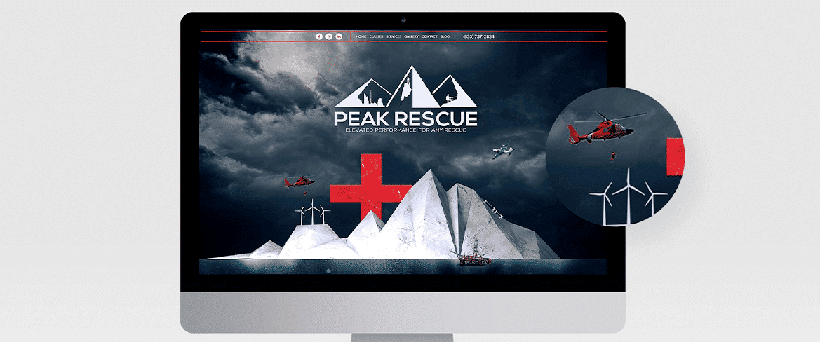 Peak Rescue Website